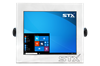 STX X7015-RT Harsh Environment Computer with Resistive Touch Screen
