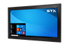 X7500 Fully Sealed Large Format Industrial PC - No-Touch Screen - Matte Black Finish