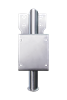 Stainless Steel Wall Mount Bracket - Adjustable