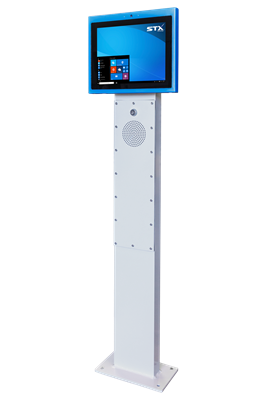 12 inch Kiosk on plinth